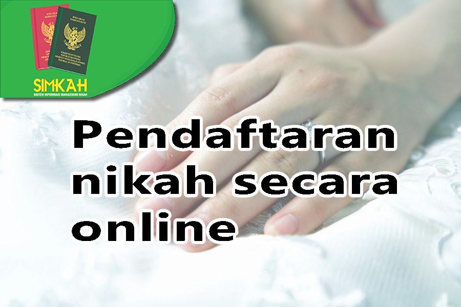 Kabar baik bagi calon pengantin, KUA buka pendaftaran nikah secara online